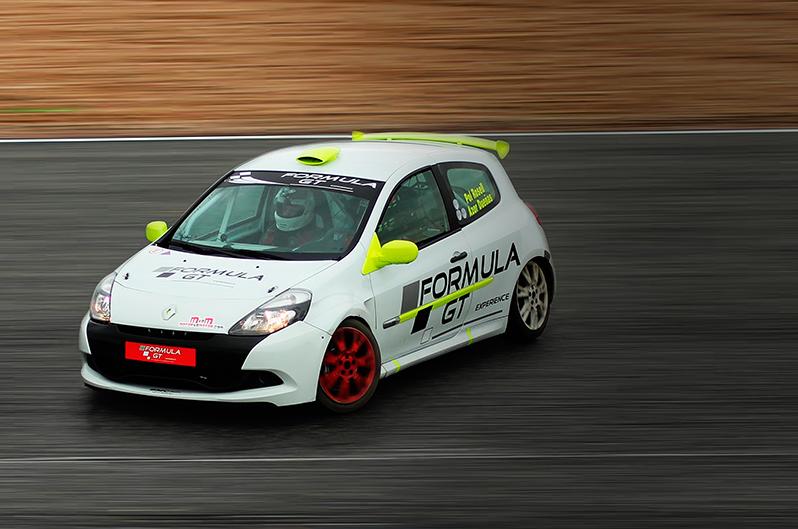 Copilotaje Clio Cup en el Circuit de Barcelona-Catalunya de Montmeló